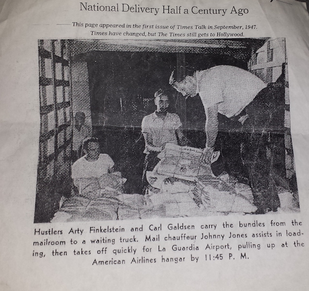 National Delivery in 1947